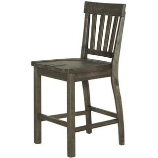 Bellamy Traditional Peppercorn Counter Height Stool - N/A