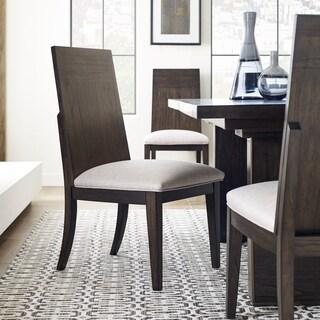MacArthur Terrace Contemporary Coffee Bean Dining Side Chair - N/A