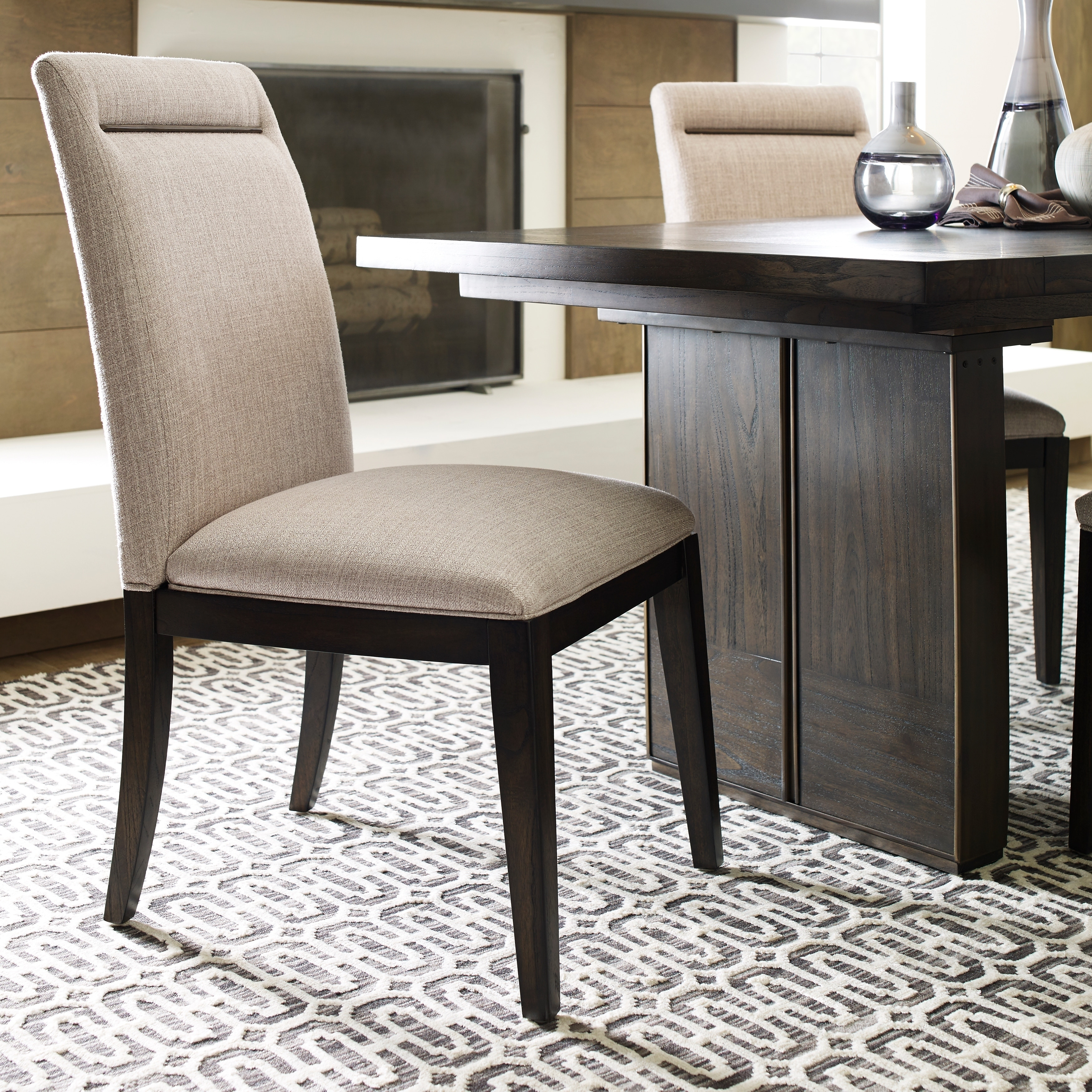 MacArthur Terrace Contemporary Upholstered Dining Side Chair
