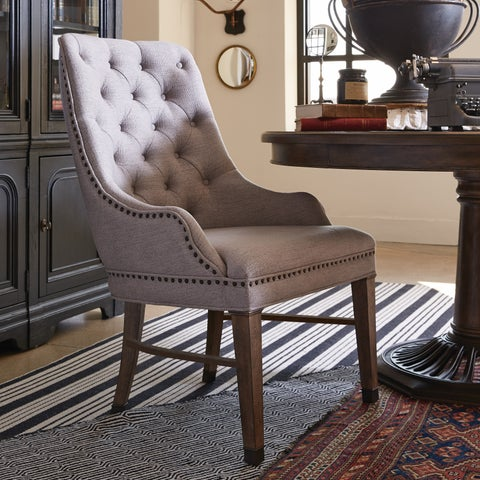Jefferson Market Traditional Upholstered Host Chair - N/A