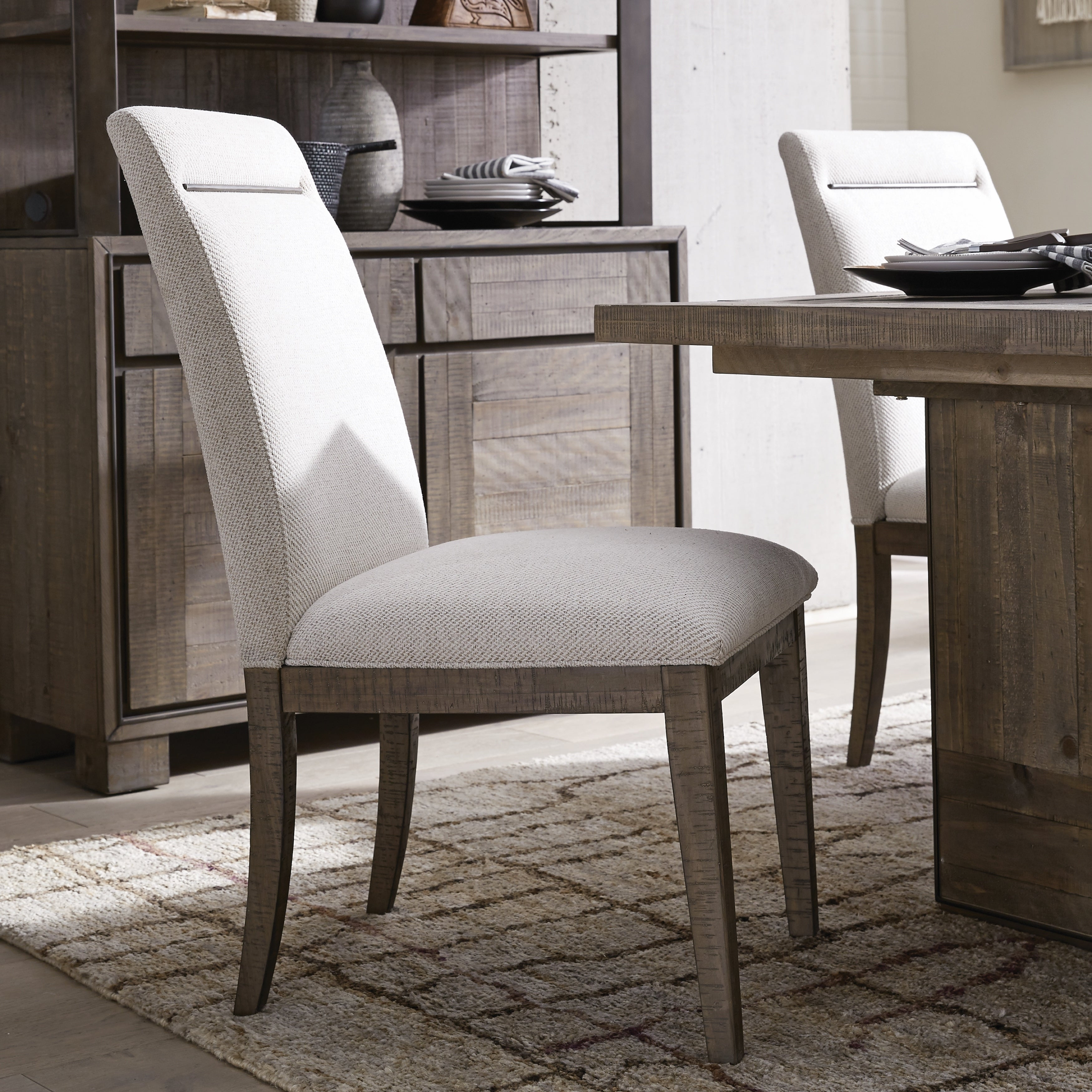 Granada Hills Contemporary Upholstered Dining Side Chair