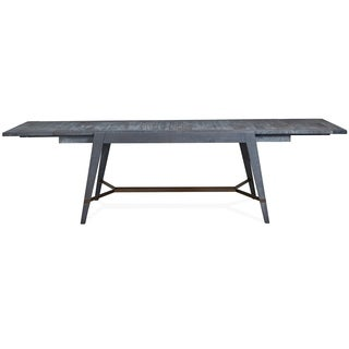 Lake Haven Rusic Washed Denim Dining Table - washed denim