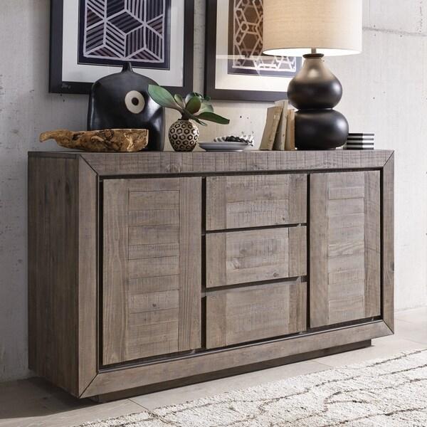 Merveilleux Granada Hills Contemporary Pebblestone Buffet Cabinet   N/A