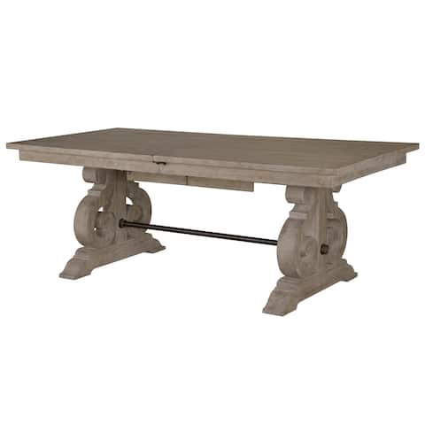The Gray Barn Manderley Dove Tail Grey Dining Table