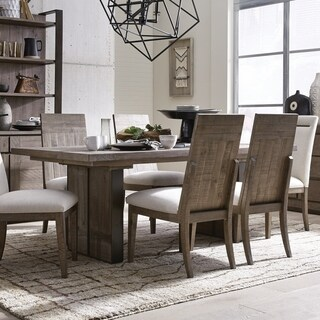 Granada Hills Contemporary Pebblestone Dining Table - N/A