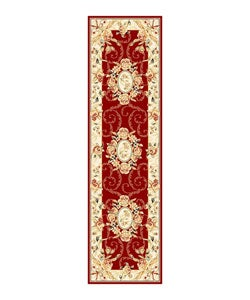 Safavieh Lyndhurst Traditional Oriental Red/ Ivory Runner (2'3 x 8')