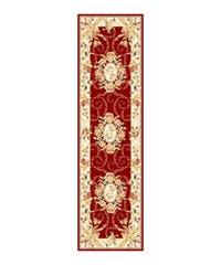 Safavieh Lyndhurst Traditional Oriental Red/ Ivory Runner (2'3 x 8')
