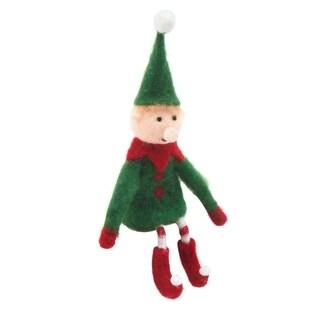 Handmade Holiday Elf Figure