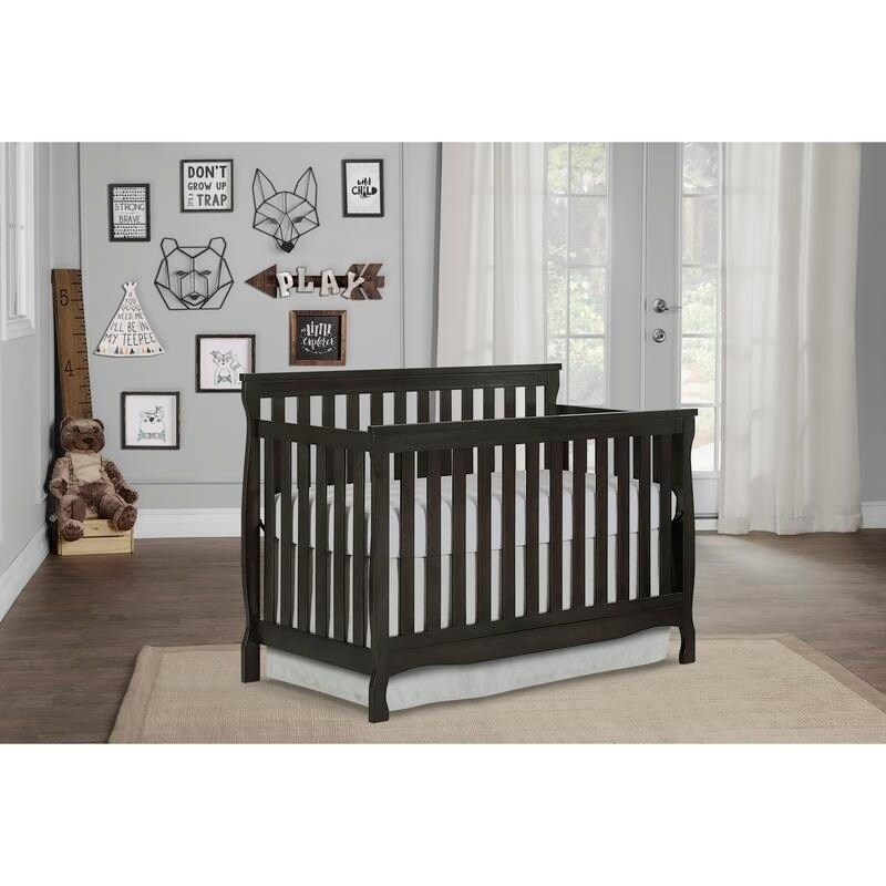Dream On Me Keyport 5 in 1 Convertible Crib