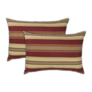 Sherry Kline Roxbury Boudoir Outdoor Pillows (Set of 2) - 13 x 19