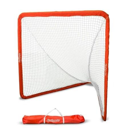 GoSports Regulation Lacrosse Goal with Steel Frame