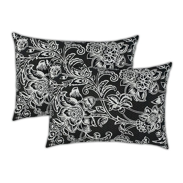Shop Sherry Kline Riviera Boudoir Outdoor Pillows Set Of 2 13 X