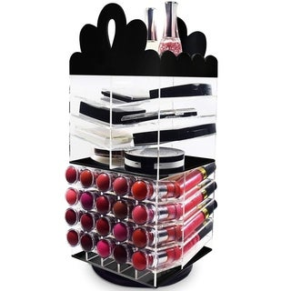 Ikee Design Acrylic Rotating Makeup Organizer Lipstick and Palette Holder (2 options available)