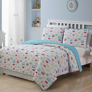 Kids Zone Priscilla Quilt Set