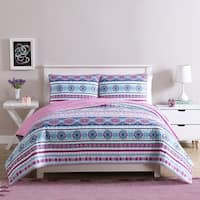 Kids Zone Chloe Bohemian Quilt Set