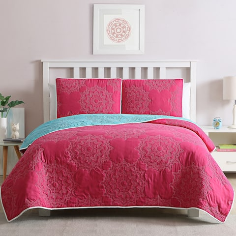 Kids Zone Stacy Quilt Set