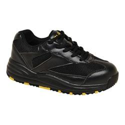Children's Mt. Emey 2151 Orthopedic Sneaker Black Leather/Mesh
