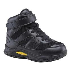Children's Mt. Emey 3305-1H Orthopedic High Top Black Leather/Mesh