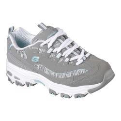 Women's Skechers D'Lites Interlude Training Sneaker Gray/Mint