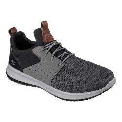 Men's Skechers Delson Camben Slip-On Sneaker Black/Gray (More options available)