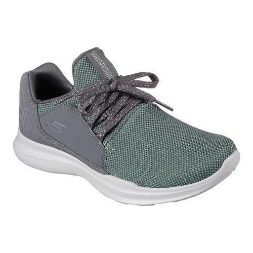 f63265085de3 Shop Women s Skechers GOrun Mojo Verve Running Shoe Charcoal Green - Free  Shipping Today - Overstock - 19114124