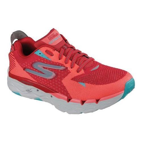 Shop Men s Skechers GOrun Ultra Road 2 Running Shoe Red Orange - Free  Shipping Today - Overstock - 19114128 5bfe87b9c5
