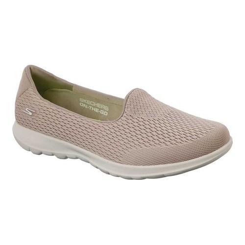 c26dde0b155b Shop Women's Skechers GOwalk Lite Shanti Slip-On Walking Shoe Taupe ...