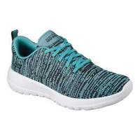 Women's Skechers GOwalk Joy Walking Sneaker Black/Teal