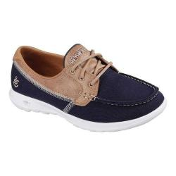 Women's Skechers GOwalk Lite Coral Boat Shoe Navy (4 options available)