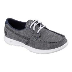 Women's Skechers GOwalk Lite Isla Boat Shoe Navy (More options available)