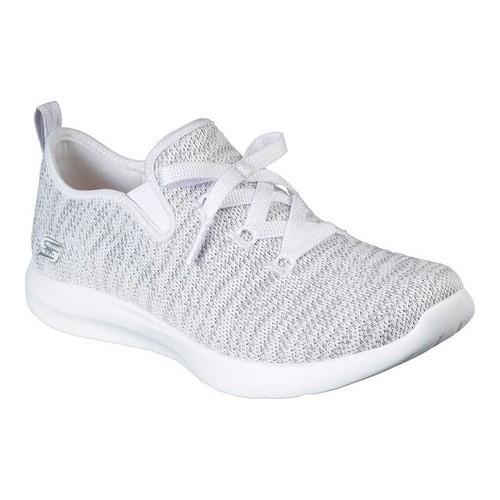 Women's Skechers Studio Comfort Sneaker WhiteLight Gray