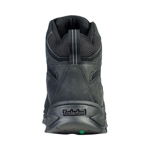Men's Timberland Earthkeepers Mt. Maddsen Mid Waterproof Hiker Boot Black Leather - Thumbnail 1