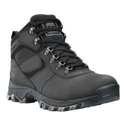 Men's Timberland Earthkeepers Mt. Maddsen Mid Waterproof Hiker Boot Black Leather