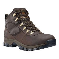 Men's Timberland Earthkeepers Mt. Maddsen Mid Waterproof Hiker Boot Dark Brown Leather