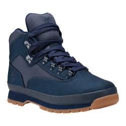 Men's Timberland Euro Hiker Shoe Navy Cordura Nylon