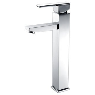 Luxurious Single Handle Vessel Faucet in Brushed Nickel Finish
