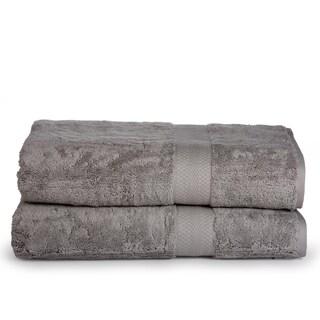 Aerosoft Premium Combed Cotton 700 GSM 2 Piece Oversized Bath Sheets