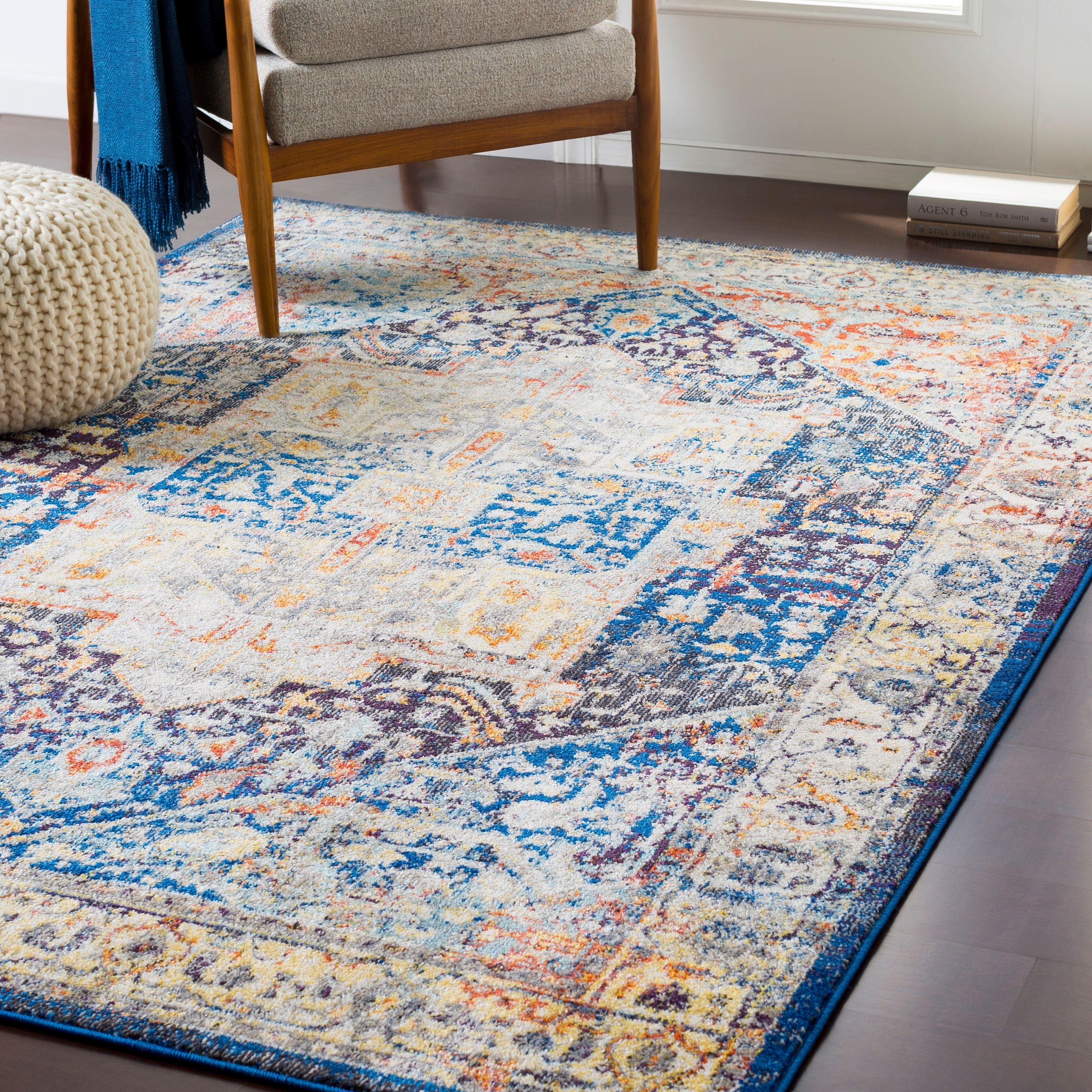 Picture of: Shop Montserrat Traditional Burnt Orange Area Rug 7 10 X 10 3 On Sale Free Shipping Today Overstock 22402062