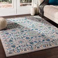 """Argus Traditional Taupe Area Rug - 9'2"""" x 12'3"""""""