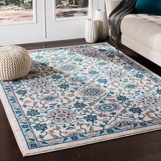 "Argus Traditional Ivory Area Rug - 7'10"" x 10'3"""