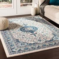 "Phaenna Traditional Ivory Area Rug - 9'2"" x 12'3"""