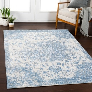 "Apolena Denim Updated Traditional Area Rug - 7'10"" x 10'3"""