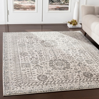 """Marte Camel Updated Traditional Area Rug - 7'10"""" x 9'10"""""""