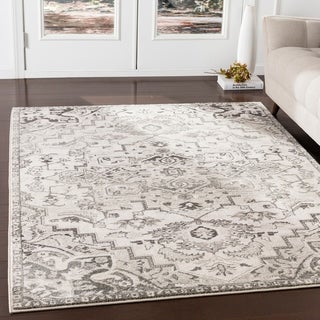 "Arkaitz Camel Updated Traditional Area Rug - 7'10"" x 9'10"""