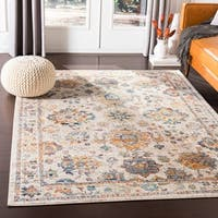 Kailash Traditional White Accent Rug - 2' x 3'