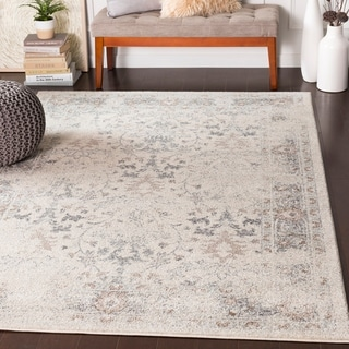 Alethea Distressed Traditional Camel Accent Rug - 2' x 3'