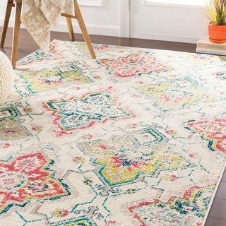 Adaeze Transitional Cream Accent Rug - 2' x 3'