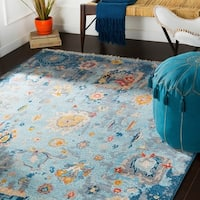 Severine Navy Updated Traditional Area Rug - 2' x 3'