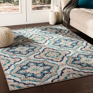 "Kashi Transitional Camel Area Rug - 5'3"" x 7'3"""
