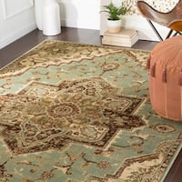 "Demetria Traditional Sage Area Rug - 5'3"" x 7'6"""
